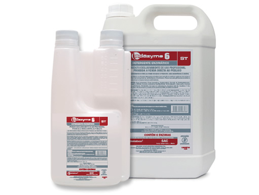 Detergentes Enzimáticos Indazyme 6 ST