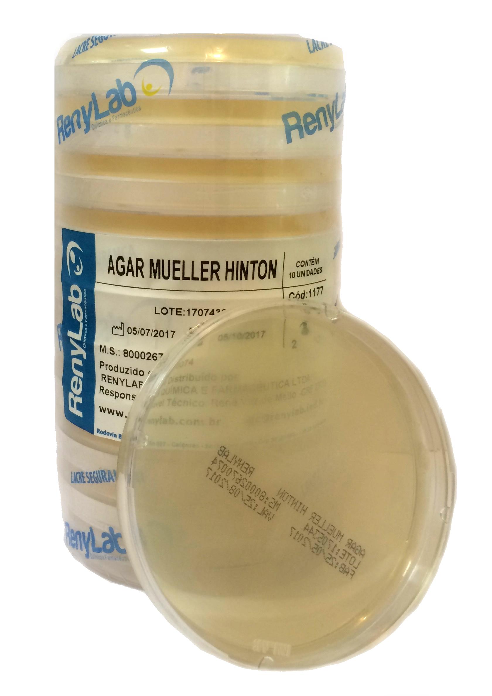 Ágar Mueller Hinton