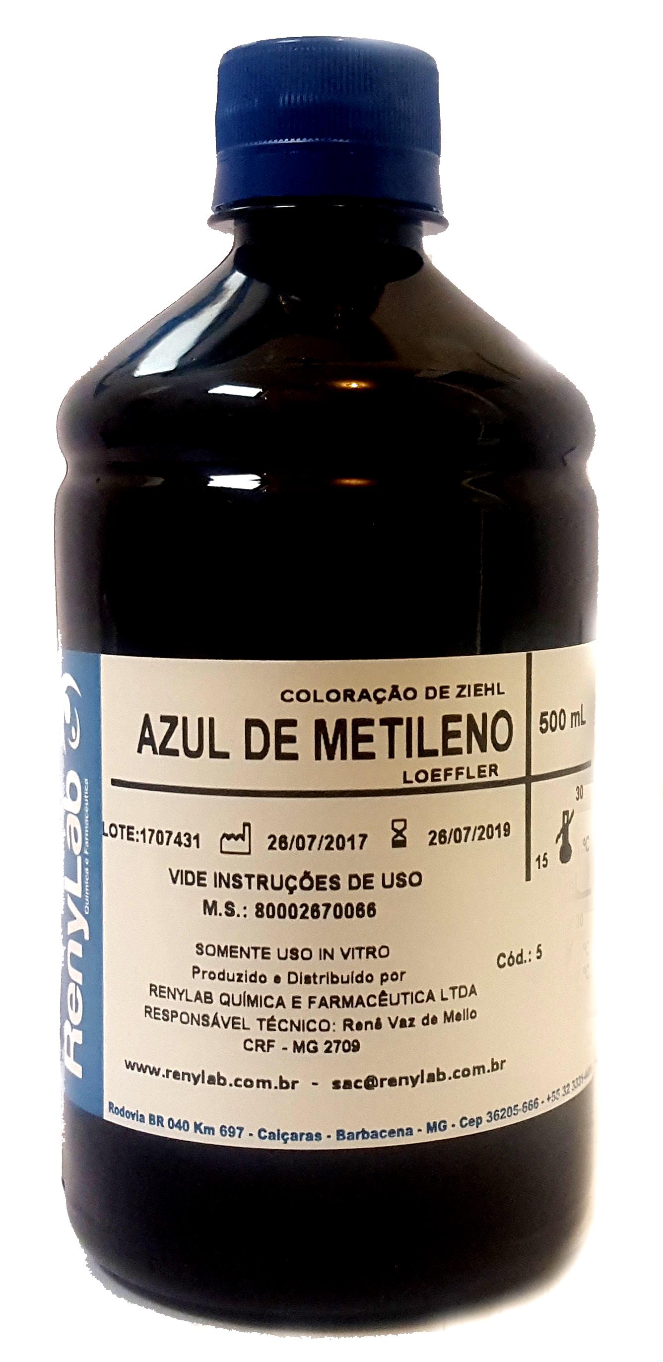 Azul de Metileno Loeffler