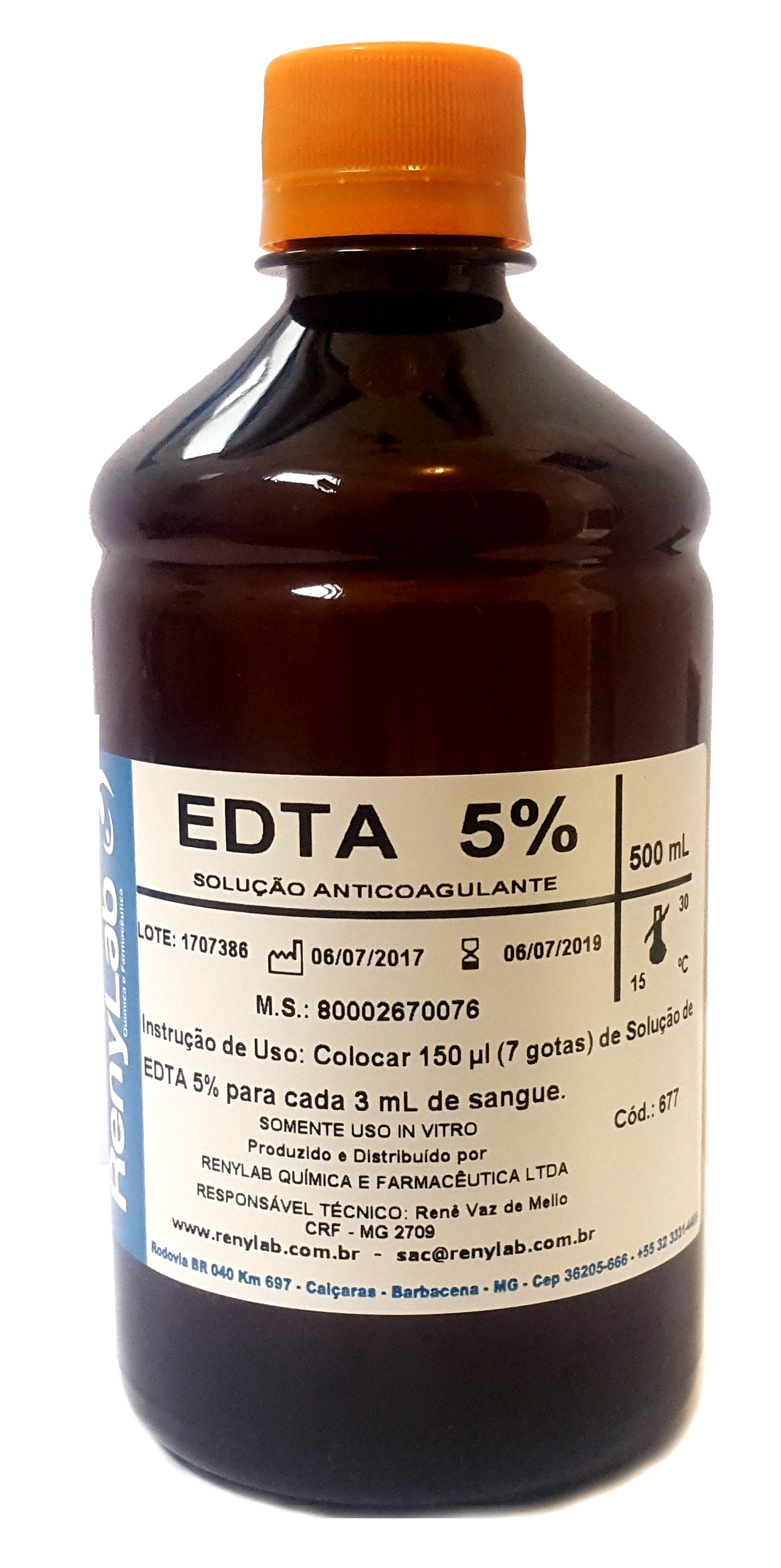 Anticoagulante EDTA (Universal)