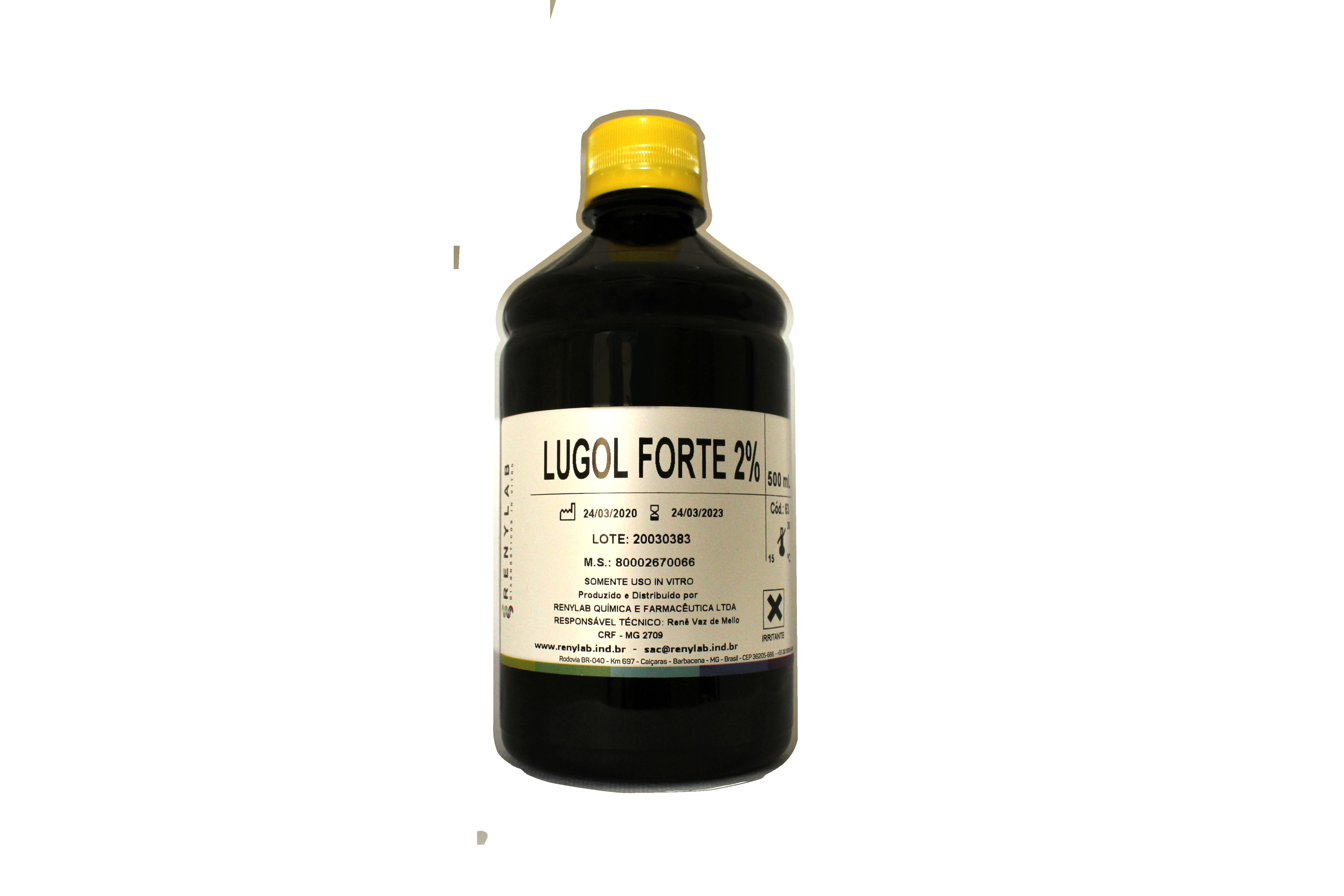 Lugol Forte P/ Teste de Schiller