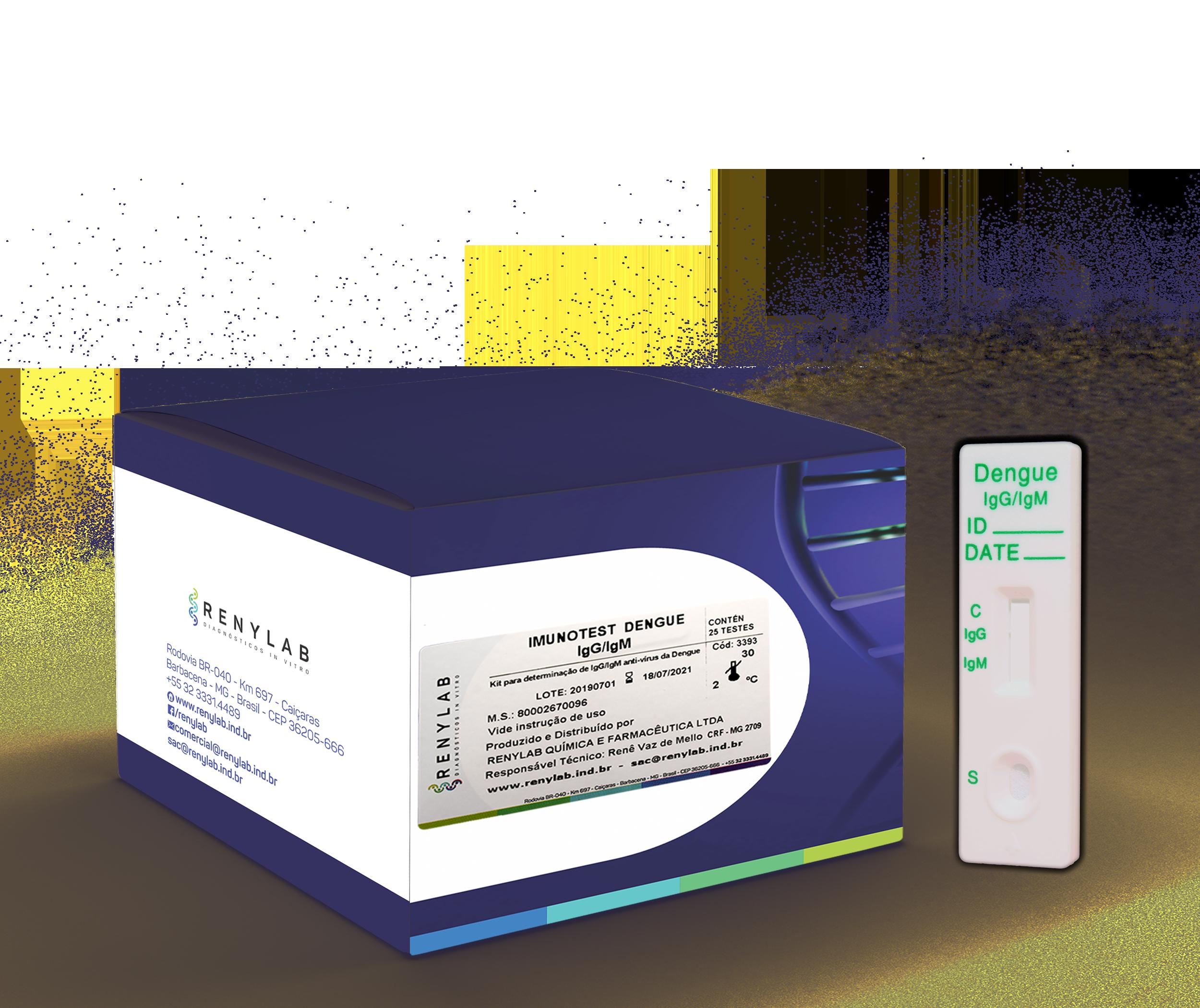 Imunotest Dengue IgG/IgM