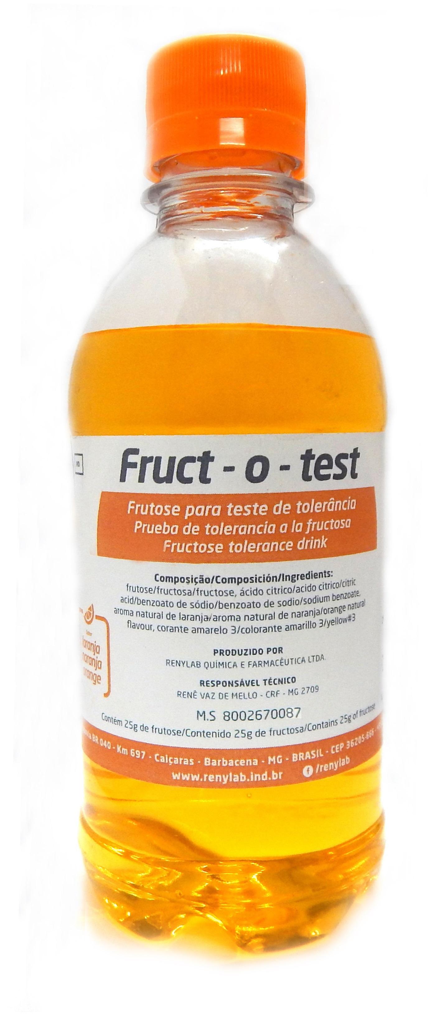 Fruct-o-test® 50g (Solução de Frutose)